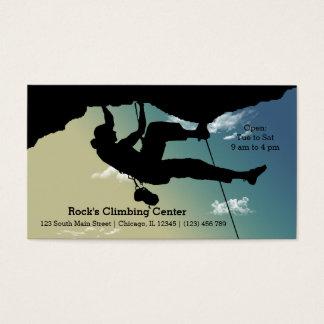 Rock Climbing Business Card