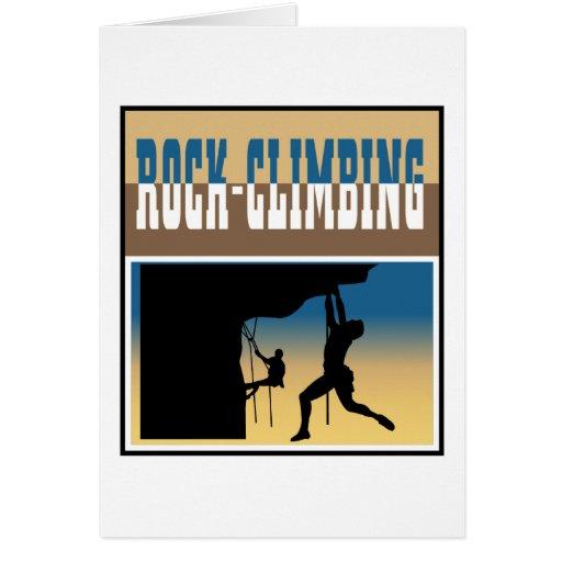 Rock Climbing Card