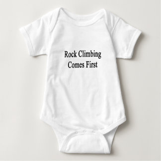 Rock Climbing Comes First Infant Creeper