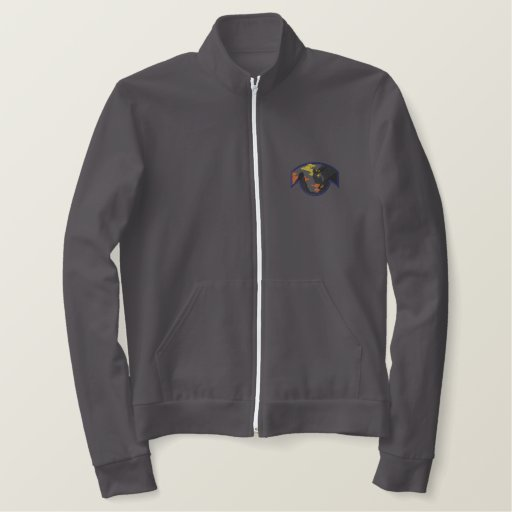 Rock Climbing Embroidered Jacket