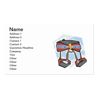 Rock Climbing Harness Double-Sided Standard Business Cards (Pack Of 100)