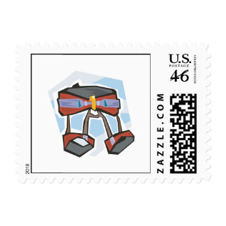 Rock Climbing Harness Stamp