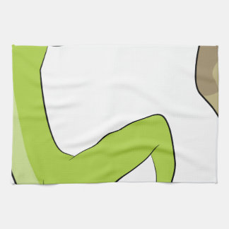 Rock Climbing Icon Towels