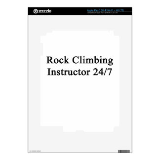 Rock Climbing Instructor 24/7 Decal For iPad 3