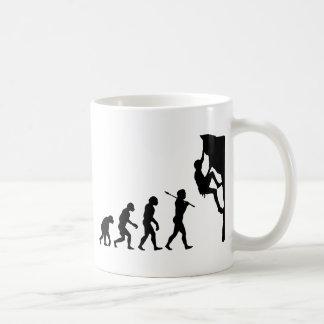 Rock Climbing Classic White Coffee Mug