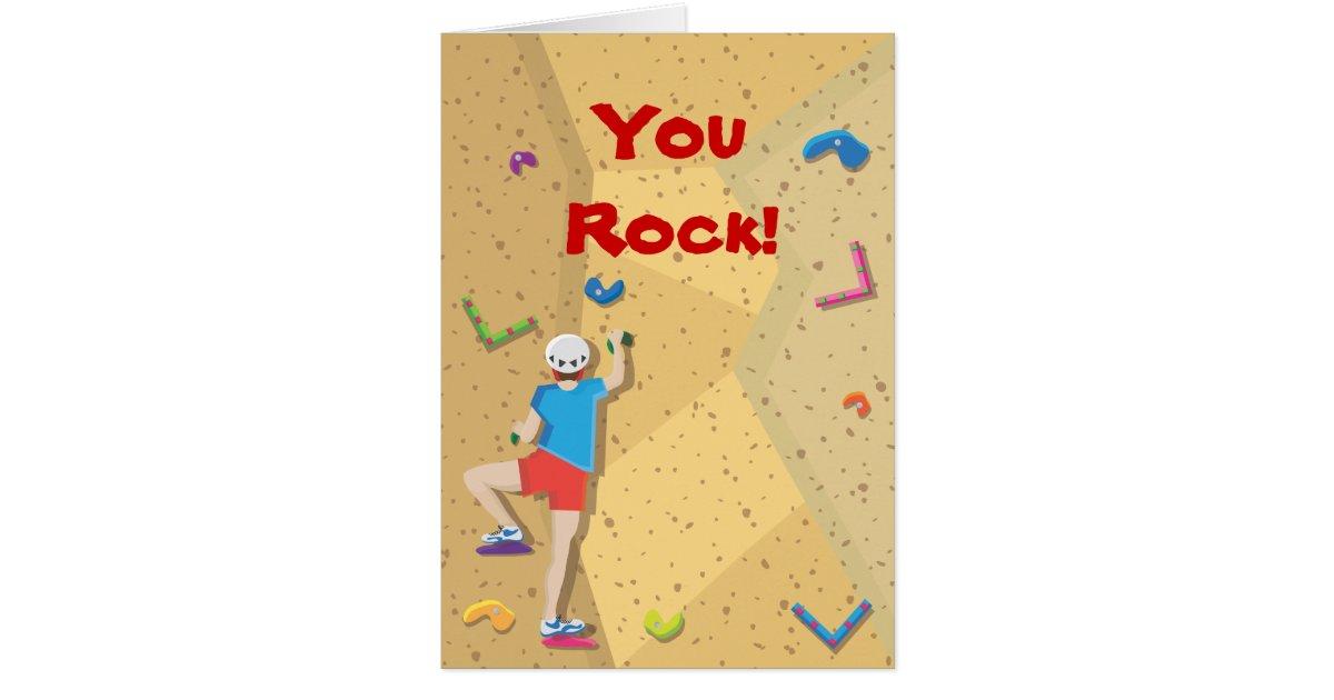 Rock Climbing Party Thank You Notes | Zazzle.com