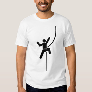 Rock Climbing Pictogram T-Shirt