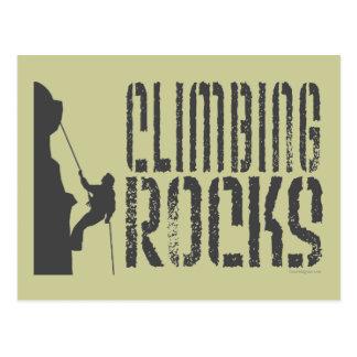 Rock Climbing Post Cards