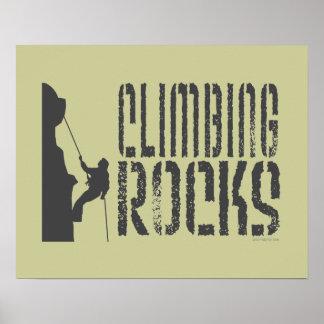 Rock Climbing Print