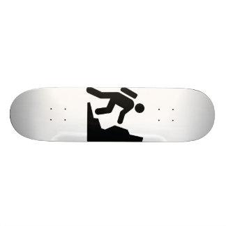 Rock Climbing Skateboard Deck