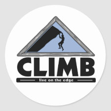 Rock Climbing Stickers