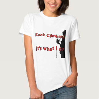 Rock Climbing T-shirts and Gifts.