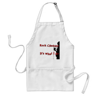 Rock Climbing T-shirts and Gifts. Apron