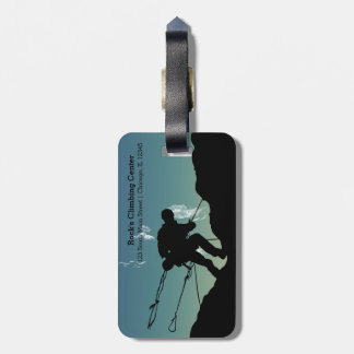 Rock Climbing Tags For Bags