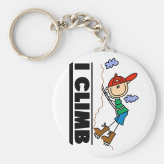 Rock Climbing Tshirts and Gifts Keychain