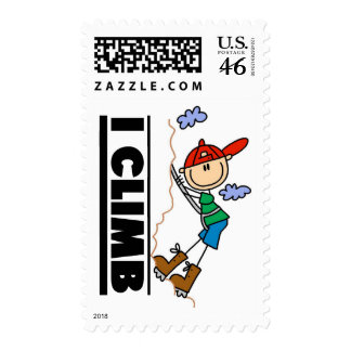 Rock Climbing Tshirts and Gifts Stamps