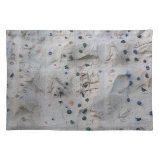 Rock Climbing Wall Placemat