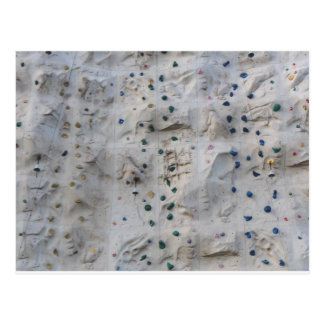 Rock Climbing Wall Postcard
