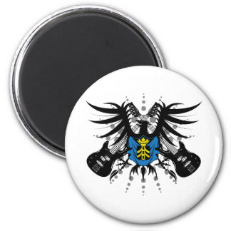 Rock Coat of Arms Magnet