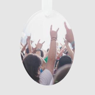 Rock Concert Audience Ornament