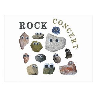 Rock Concert Postcard