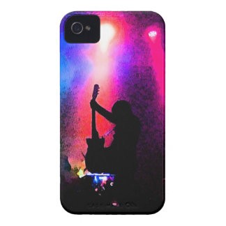 Rock Concert with Guitarist and Stage Lighting iPhone 4 Case