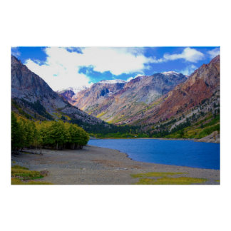 Rock Creek Lake Autumn Poster