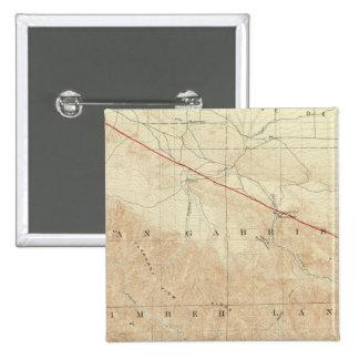 Rock Creek quadrangle showing San Andreas Rift Button