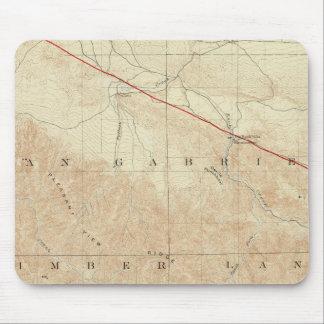 Rock Creek quadrangle showing San Andreas Rift Mouse Pad