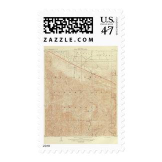 Rock Creek quadrangle showing San Andreas Rift Postage