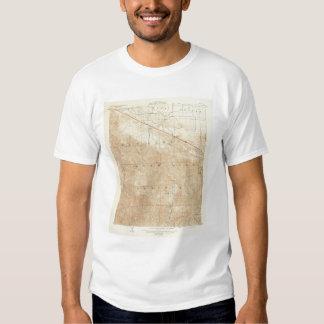 Rock Creek quadrangle showing San Andreas Rift T-Shirt