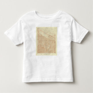 Rock Creek quadrangle showing San Andreas Rift Toddler T-shirt