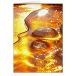 Rock crystal card