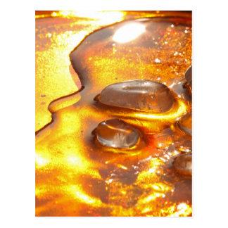 Rock crystals postcards