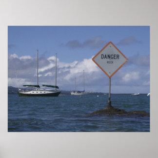 Rock Danger Poster