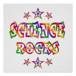 Rock de la ciencia de las estrellas impresiones