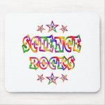 Rock de la ciencia de las estrellas tapete de ratones