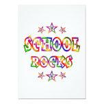 Rock de la escuela de las estrellas comunicado