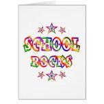 Rock de la escuela de las estrellas felicitaciones