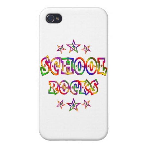 Rock de la escuela de las estrellas iPhone 4/4S funda