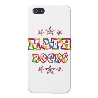Rock de la matemáticas de las estrellas iPhone 5 carcasas