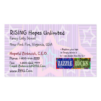 ROCK de ZAZZLE - selección de levantamiento de la Tarjetas De Visita
