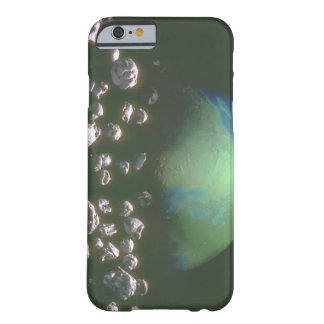 Rock debris around Earth_Space Scenes Barely There iPhone 6 Case