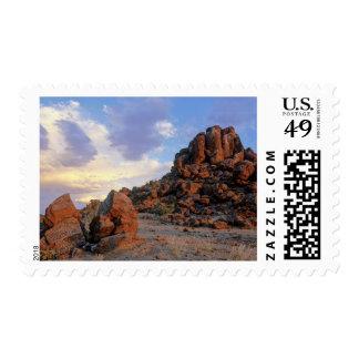 Rock Desert, Augrabies Falls National Park Stamps