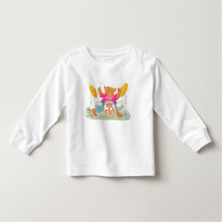 """rock drummer bear declares """"YES I CAN!"""" T Shirt"""