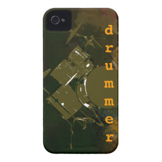 rock drummer Case-Mate iPhone 4 case