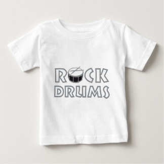 rock drums baby T-Shirt