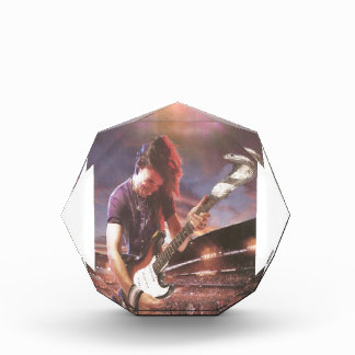 Rock Dude Acrylic Award