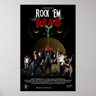 Rock 'Em Dead Poster