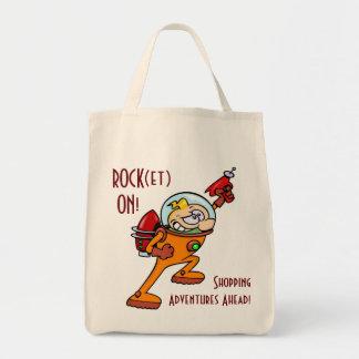 ROCK(et) ON! Canvas Bag